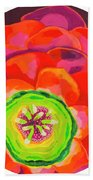 Flower Blossom Beach Towel