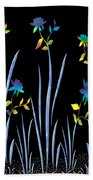 Flower Dance Beach Towel