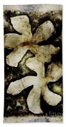 Flower Design Beach Towel