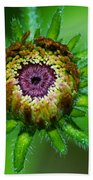 Flower Eye Beach Towel