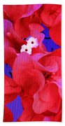 Flower Fantasy Beach Towel