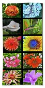 Flower Favorites Beach Towel