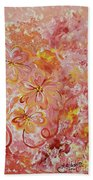 Flower Fun Beach Towel
