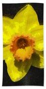Flower - Id 16235-220300-0389 Beach Towel