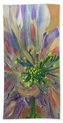 Flower In Morning Light Beach Sheet