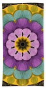 Flower In Paradise Beach Towel