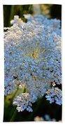 Flower In The Field  Beach Towel