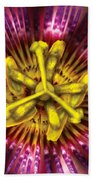 Flower - Intense Passion  Beach Sheet