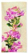 Flower-j Beach Towel
