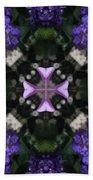 Flower Kaleidoscope_004 Beach Towel