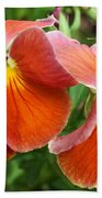 Flower Lips Beach Towel