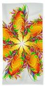 Flower Of Joy Beach Sheet