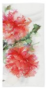 Flower Of My Dreams Beach Towel
