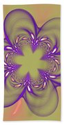 Flower Of Pink - Purple Beach Towel