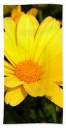 Flower Of Sunshine Beach Towel