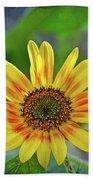 Flower Of The Sun Beach Sheet