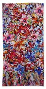 Flower Passion Beach Towel