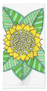 Flower Power 6 Beach Towel
