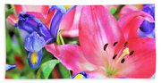 Flower Soft  Beach Sheet