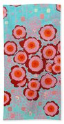 Flower Spreading  Beach Towel