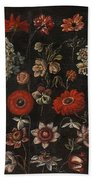 Flower Studies Beach Towel