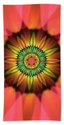Flower Translucent 14 Beach Towel