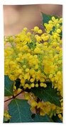 Flowering Plant 032514a Beach Towel