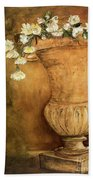 Flowering Urn Beach Towel