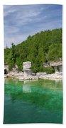 Flowerpot Island - Georgian Bay, Ontario Beach Towel