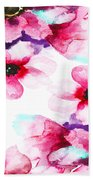 Flowers 04 Beach Towel