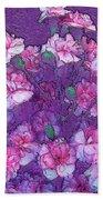 Flowers #063 Beach Towel