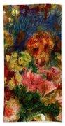Flowers 1902 Beach Towel