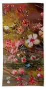 Flowers 2 Beach Towel