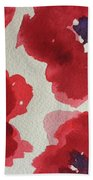Poppy Happiness Beach Towel