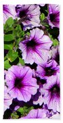 Flowers Alaska July  Beach Towel