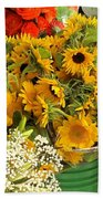 Flowers For Sale Beach Towel