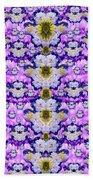 Flowers From Sky Bringing Love And Life Beach Towel