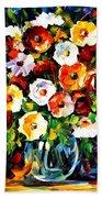 Flowers Of Love Beach Towel