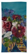 Flowers Of Remembrance Beach Sheet