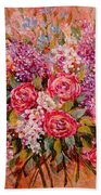 Flowers Of Romance Beach Towel