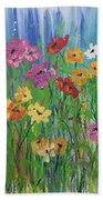 Flowers Of Summer Beach Towel