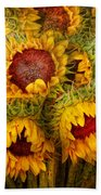 Flowers - Sunflowers - You're My Only Sunshine Beach Towel
