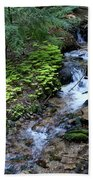 Flowing Creek Beach Towel