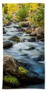 Flowing Creek Beach Towel