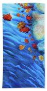 Flowing Fall Beach Towel