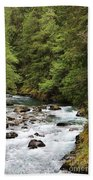 Flowing Through The Trees Beach Towel