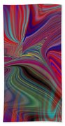Fluid Motion 6 Beach Towel