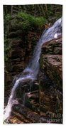 Flume Gorge Waterfall Beach Towel