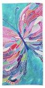 Fluttering Jewel Beach Towel