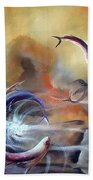 Flying Fishes Beach Towel